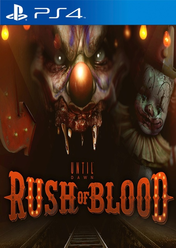 Cover zu Until Dawn: Rush of Blood