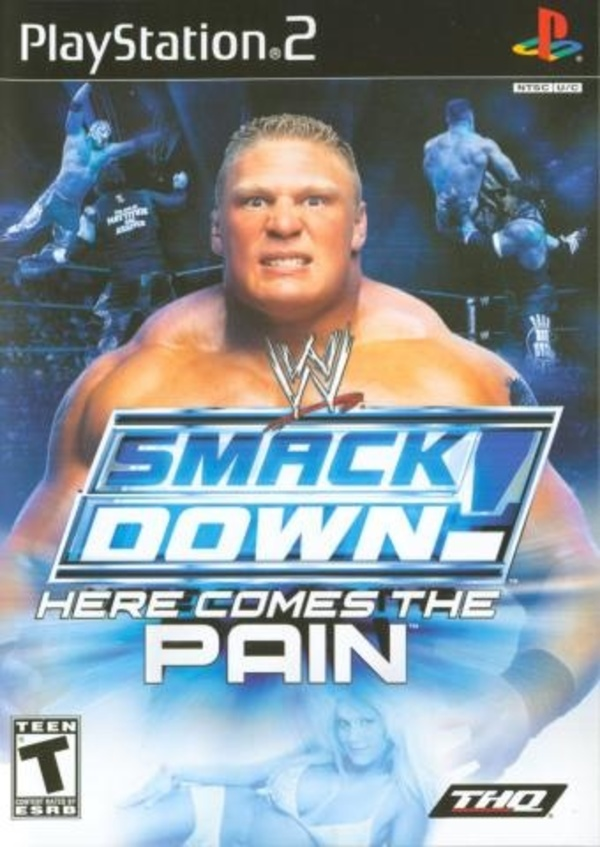 Cover zu WWE Smackdown! Here Comes the Pain