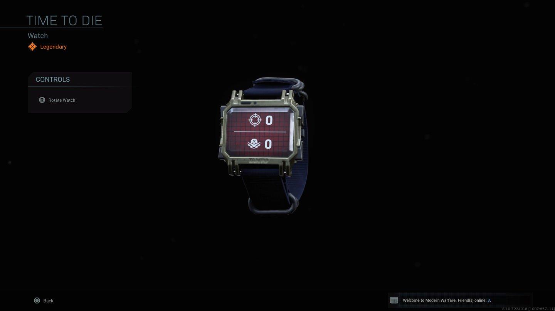 Modern Warfare Uhr