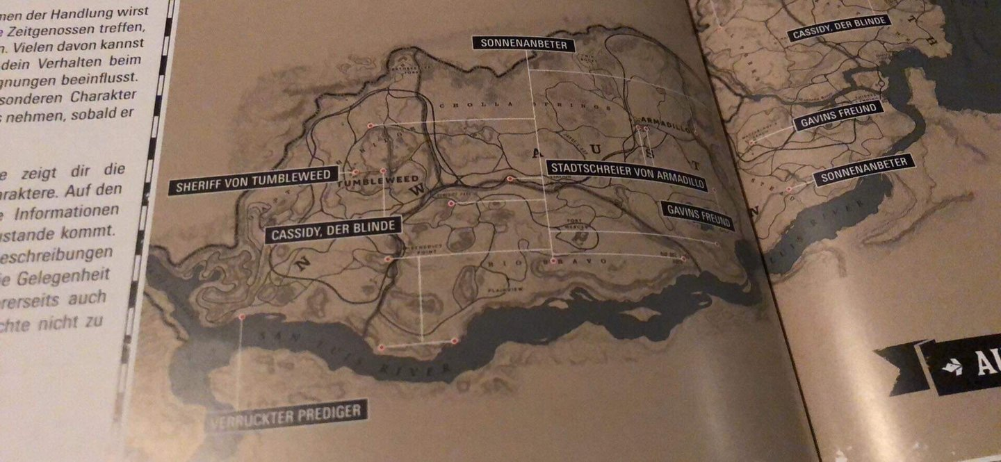 Rdr2 Karte Pdf.Komplette Red Dead Redemption 2 Map Geleakt So Gross Ist Es