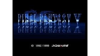 Final Fantasy V: Title