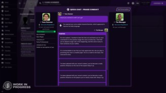 Football Manager 2021 - Quick Chat