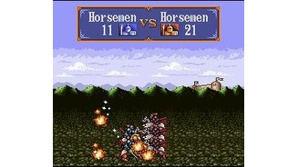Battle animation - Two Horsemen-Units are battling it out