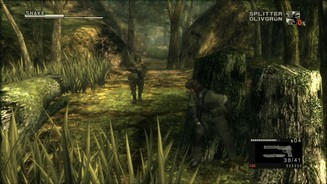 <b>Metal Gear Solid HD Collection</b><br> Der Dschungel aus Metal Gear Solid: Snake Eater wirkt auch im HD-Remake stimmig, über weite Teile aber leblos. Am gelungenen Grafikstil ändert das nichts.