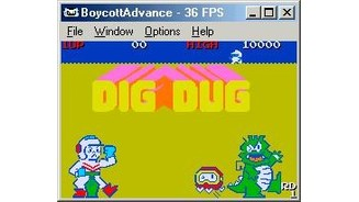 Dig Dug, taking advantage of the new graphical engine ;)