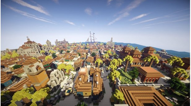 Minecraft - Havanna aus Assassins Creed 4: Black Flag