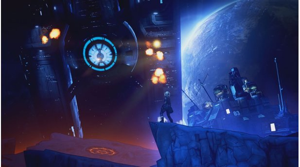 Borderlands: The Handsome CollectionIn Borderlands: The Pre-Sequel werden wir auf den Mond geschossen.