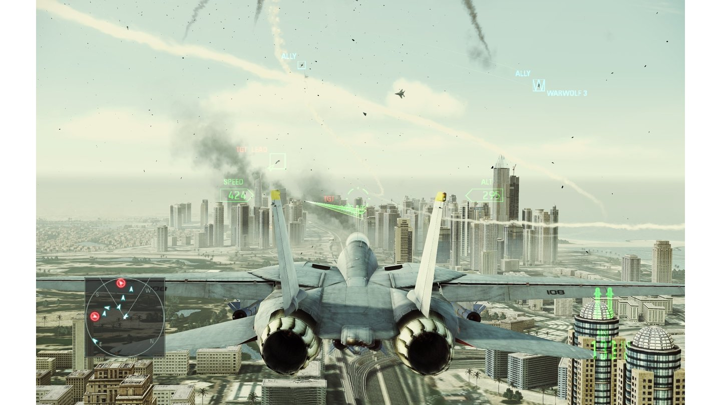 Ace Combat: Assault Horizon - PC-Screenshots