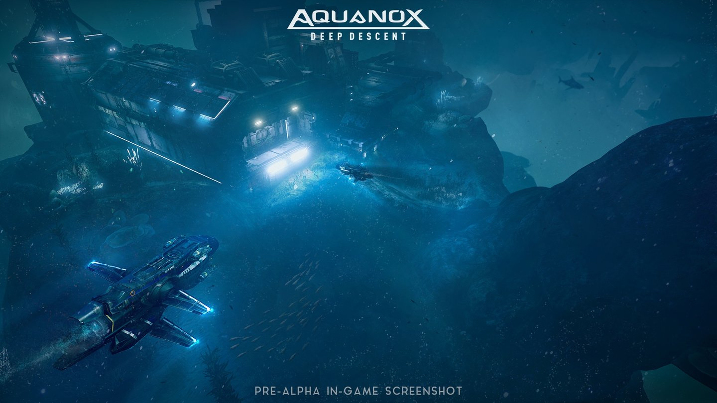 Aquanox: Deep Descent - Gamescom-Screenshots