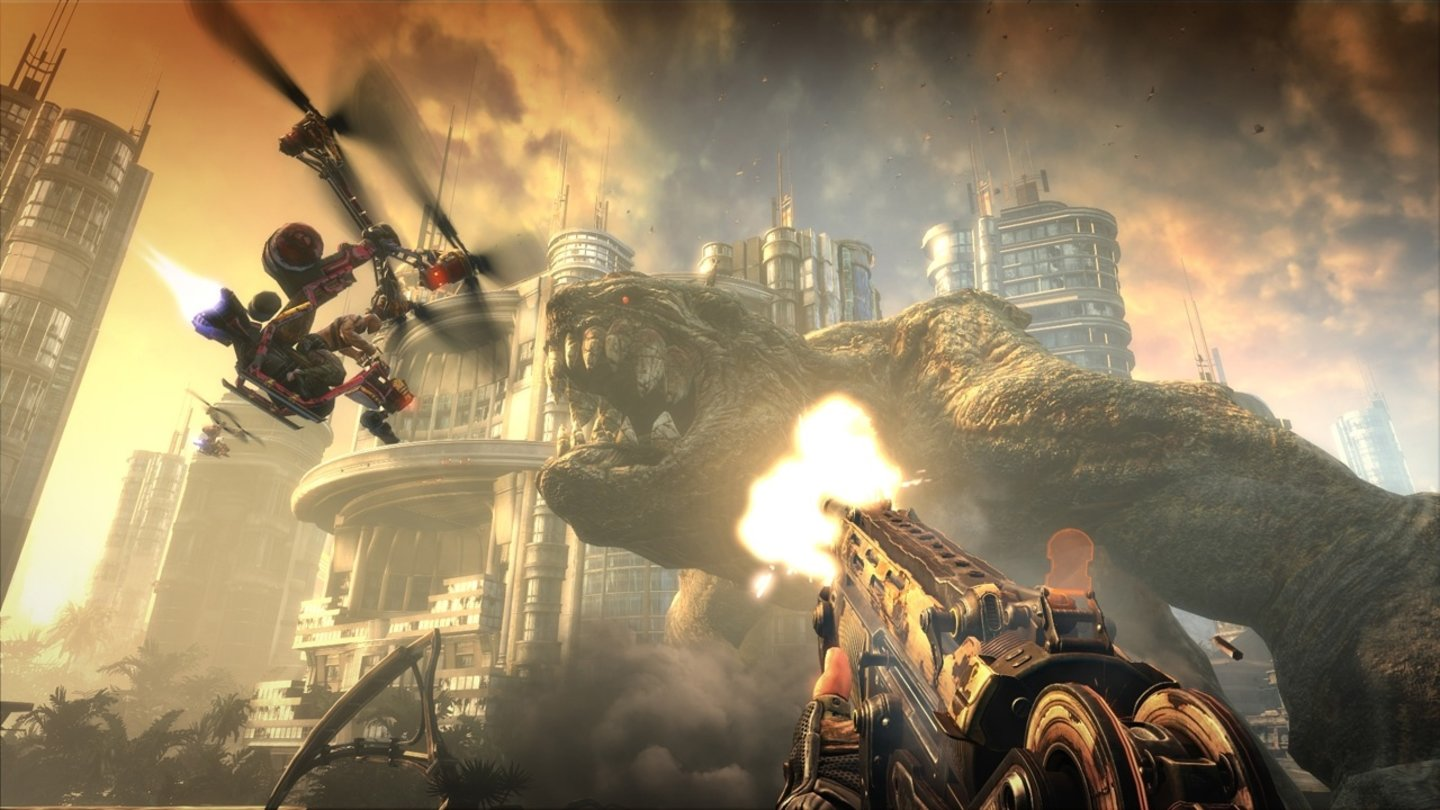 Bulletstorm - Screenshots von der gamescom 2010