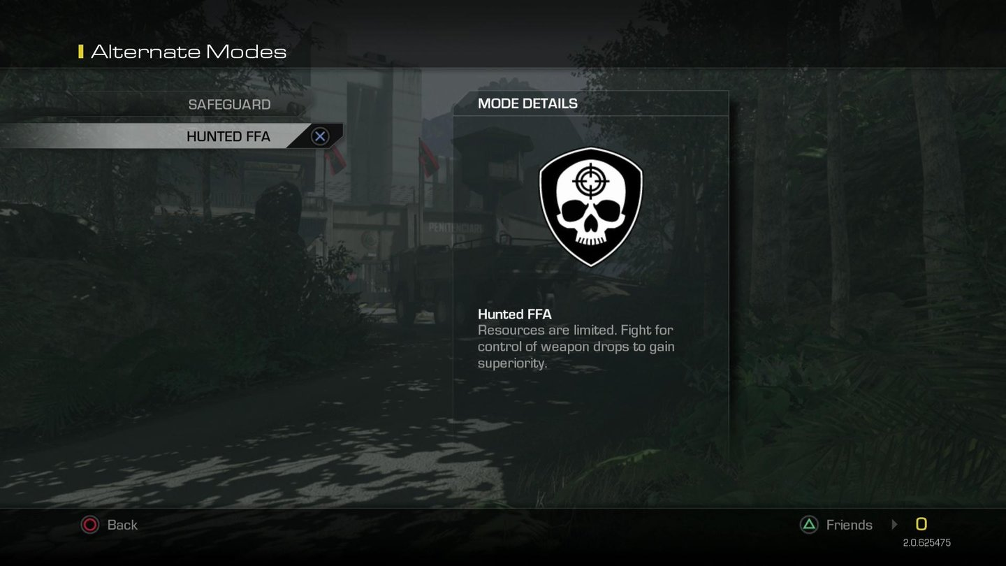 Call of Duty: Ghosts - Multiplayer-Modi