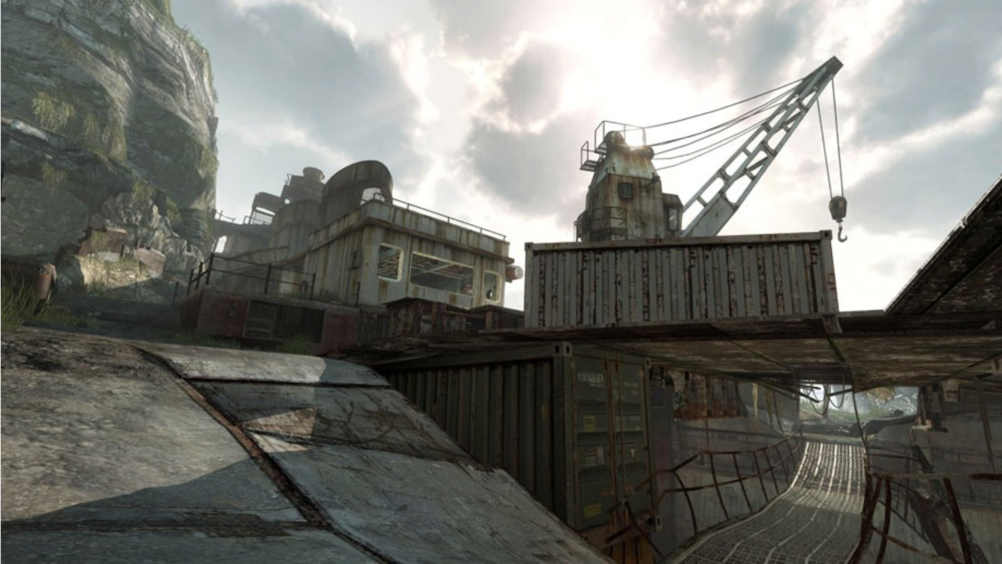 Call of Duty: Modern Warfare 3 - Face-Off-Karte Aground