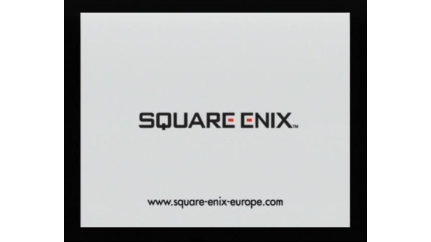 Square-Enix logo (each time pronounced by random game character)
