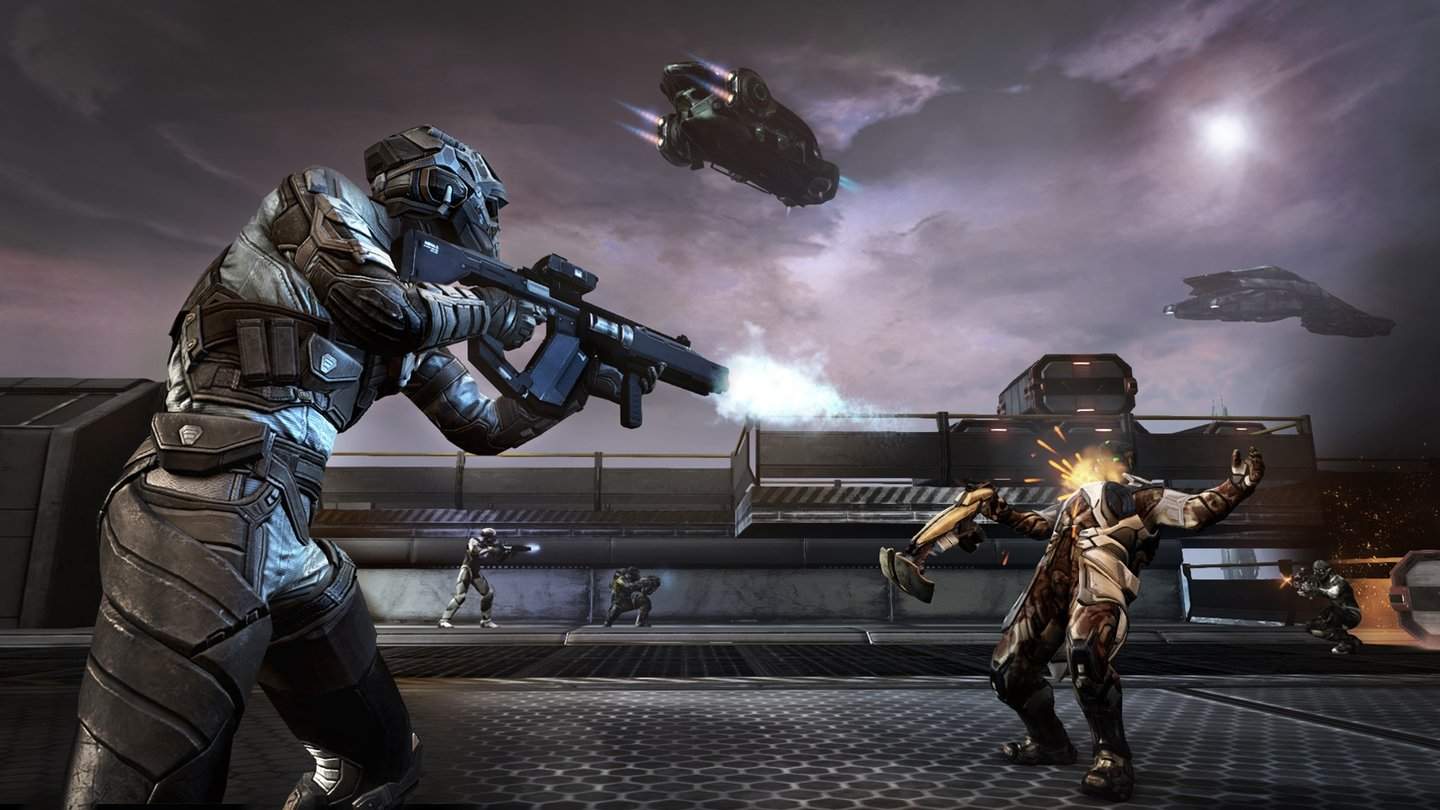 Dust 514 - Screenshots zum Update 1.7