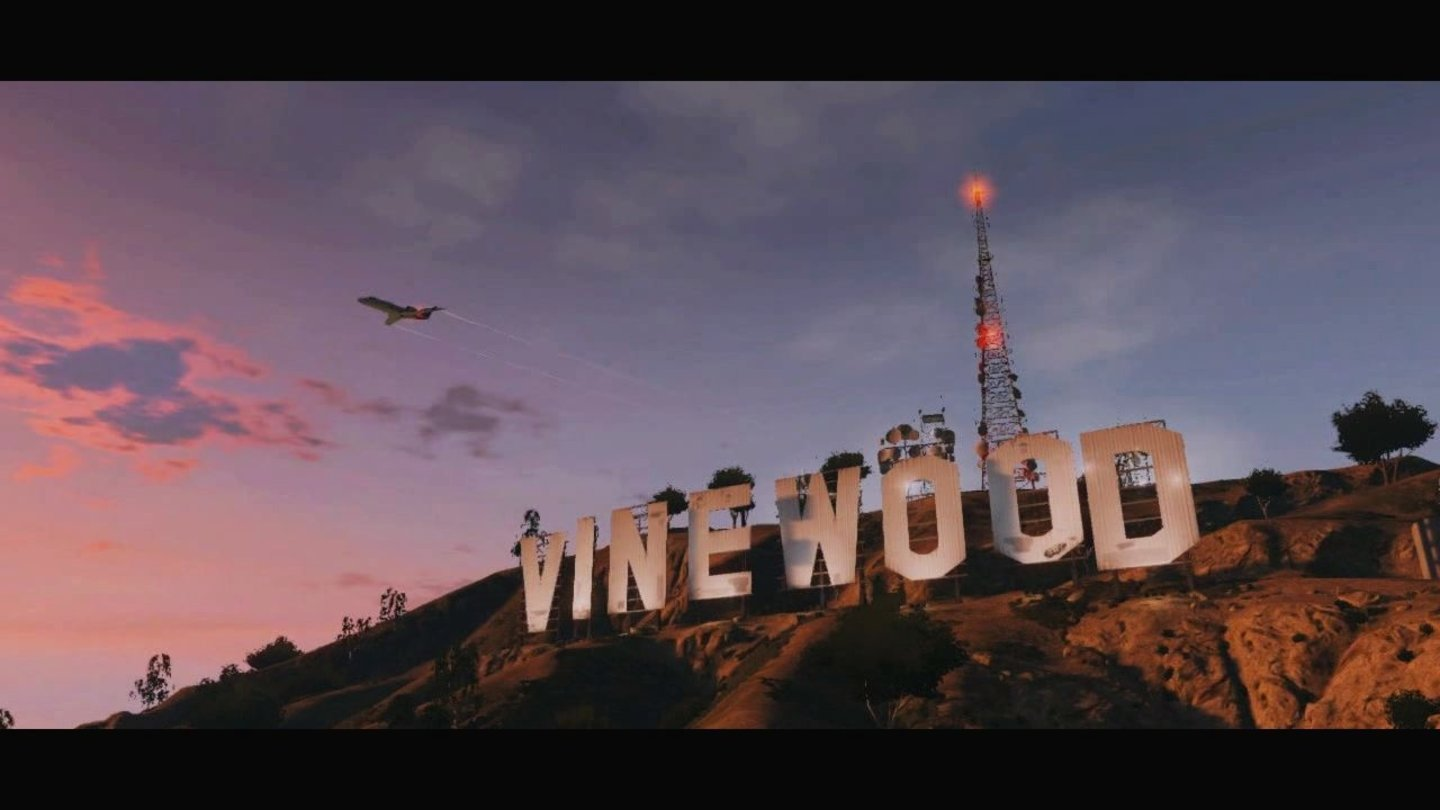 GTA 5 – Trailer-AnalyseVinewood ist das GTA-Pendant zu Hollywood.