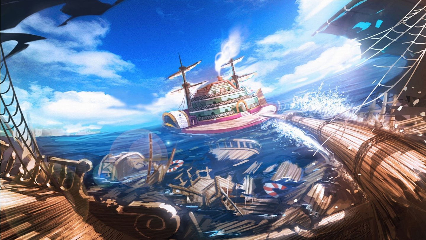 One Piece: Pirate Warriors - Artworks