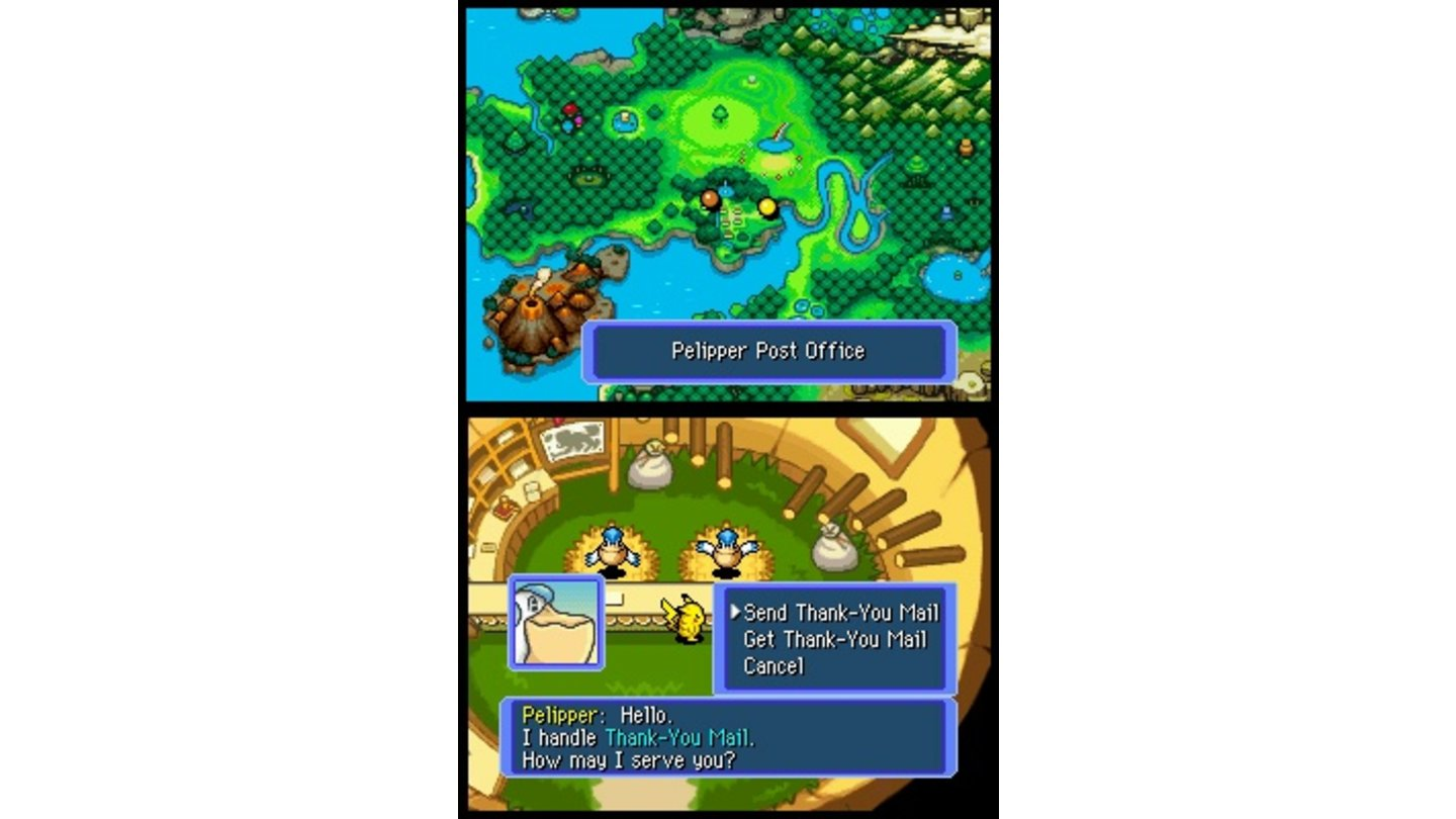 Pokémon Mystery Dungeon Team Blau DS 6