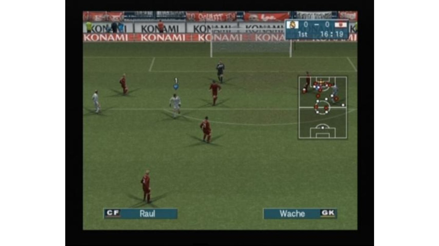 For those players who enjoyed Sensible World of Soccer, the game offers rotation of field to face goals up and down instead of sideways