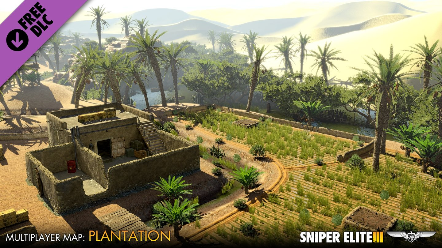 Sniper Elite 3 - Multiplayer-Screenshots