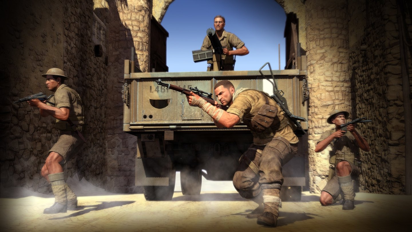 Sniper Elite 3 - Screenshots