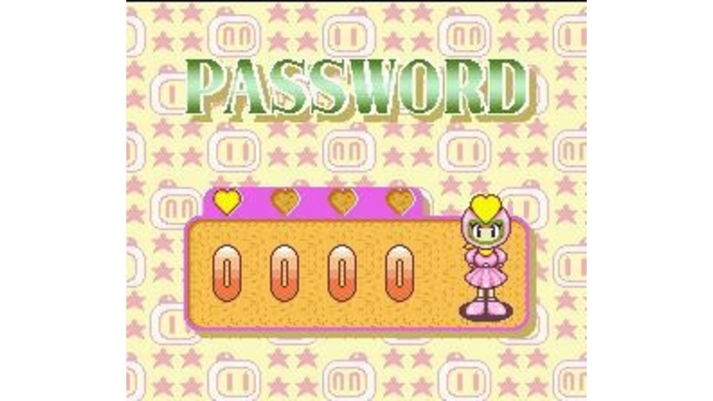 Password screen: insert 4 numbers and continue your journey.