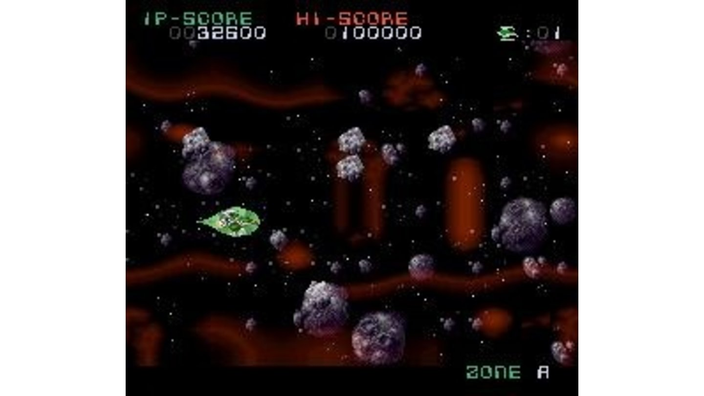 Flying through asteroids