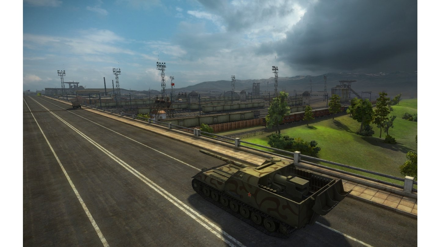 World of Tanks - Screenshots aus der Version 8.0