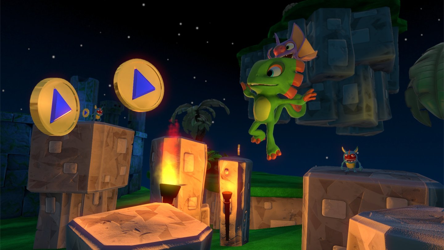 Yooka-Laylee Screenshots