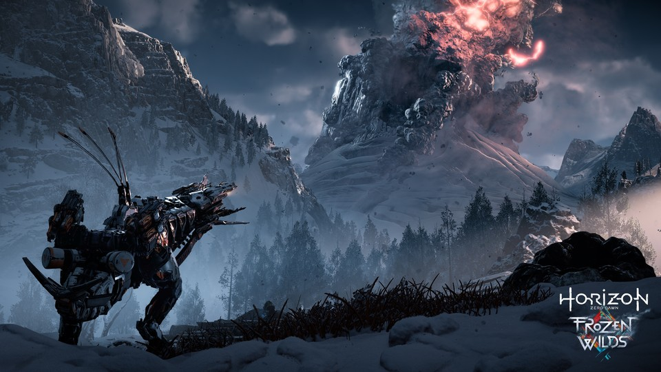 Horizon: Zero Dawn - Screenshots zum DLC »The Frozen Wilds«