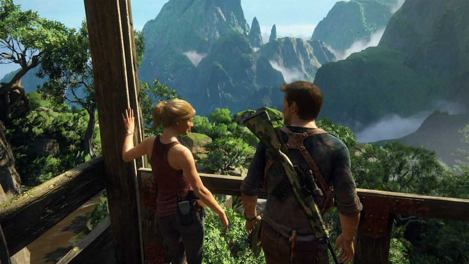 Uncharted 4: A Thief's End ist in jedem Bundle enthalten.