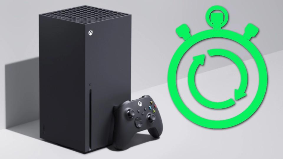 Die Ladezeiten der Xbox Series X im direkten Vergleich zur Xbox One X.