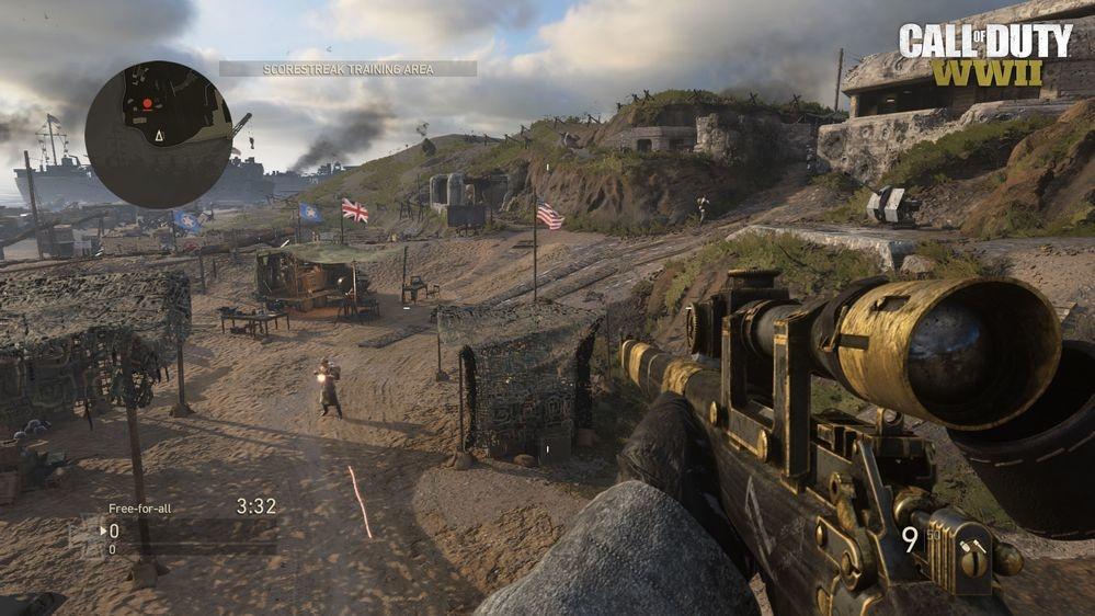 Call of Duty: WW2 - Ground War-Modus feiert seine Rückkehr, Update Call Of Duty Maps on