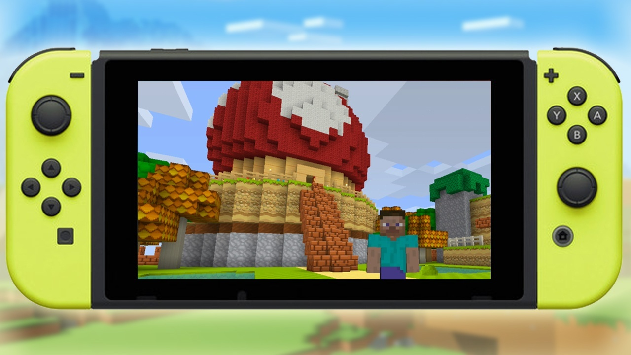 Minecraft Switch Edition Test Multiplayer DLCs Alle Infos - Minecraft headset spielen