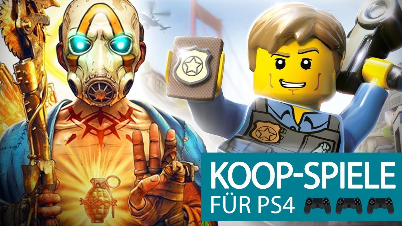 PS4 - Die besten Koop-Spiele für 2, 4 oder bis zu 8 Spieler