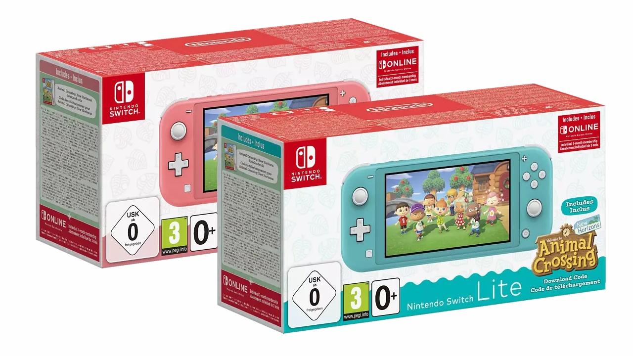 Nintendo Switch Lite - Bundle mit Animal Crossing jetzt im ...